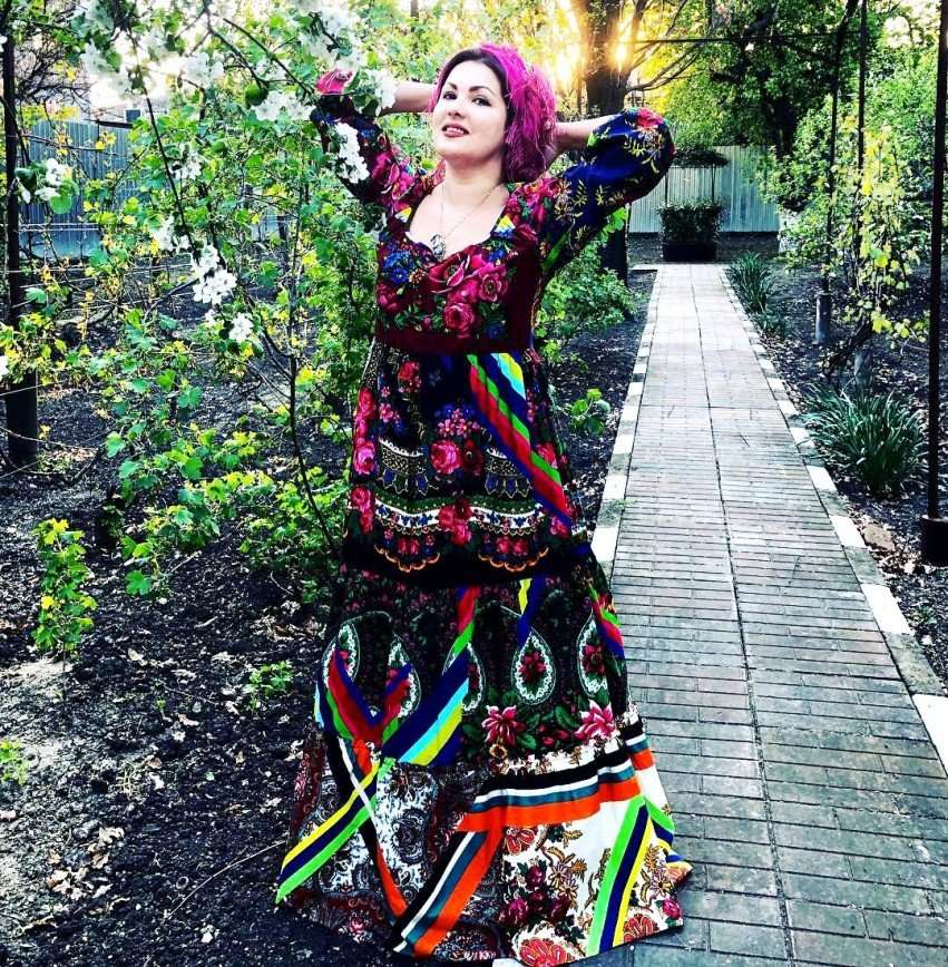 Кубанская красавица: Анна Нетребко приехала в гости к отцу