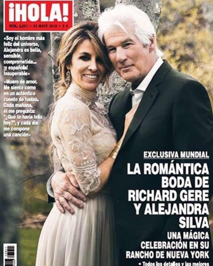 «Совет да любовь!»: Ричард Гир женился на 35-летней журналистке