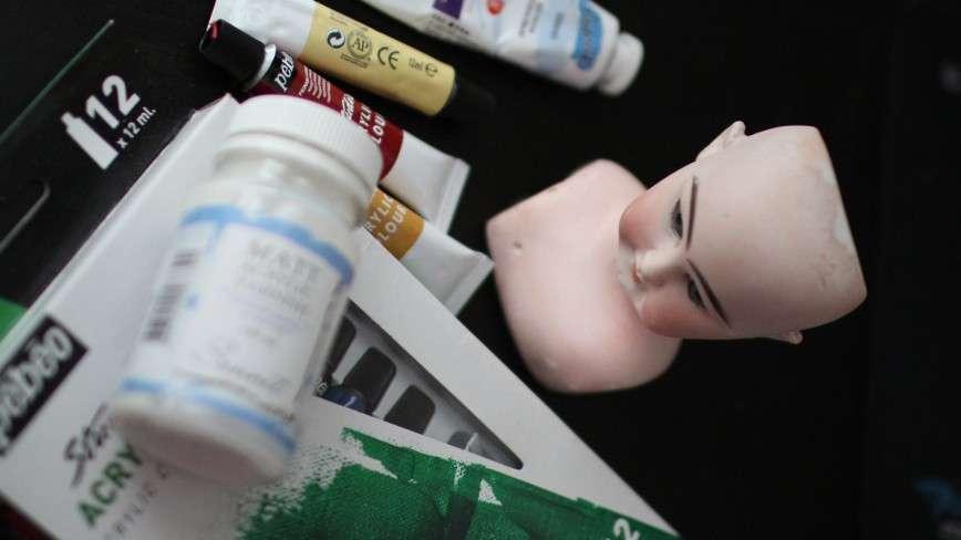 Рождение куклы в антикварном стиле