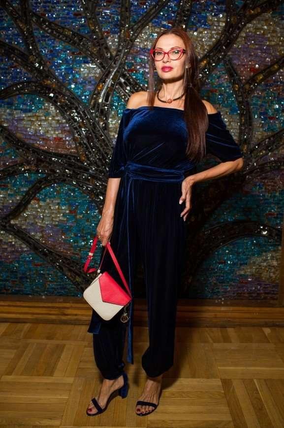 Российские звезды посетили модный показ в Посольстве Колумбии