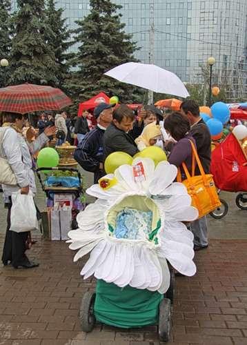 Парад детских колясок