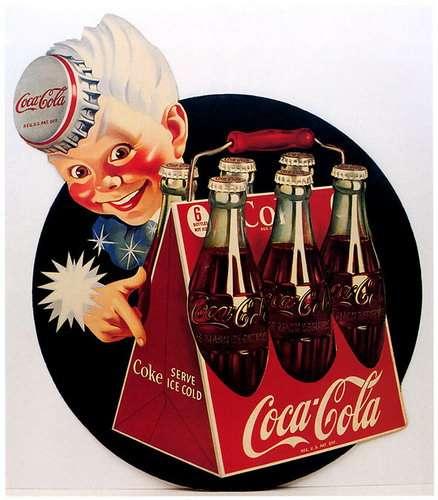 Рекламные плакаты Кока-колы