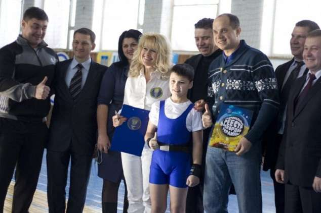 Мировой рекорд восьмилетнего украинца