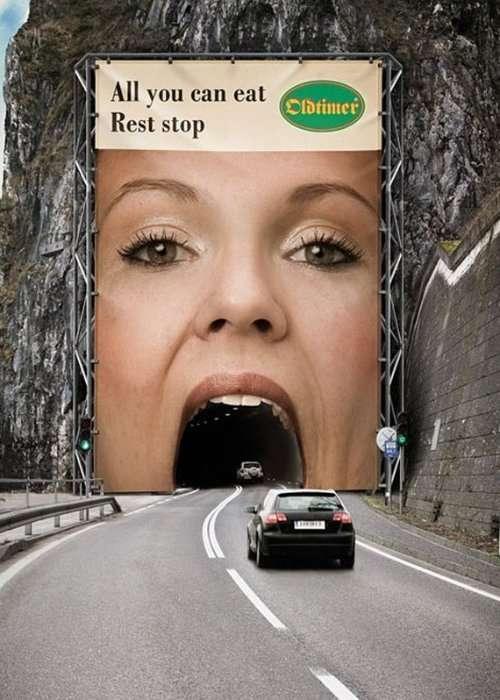 Необычные рекламные билборды
