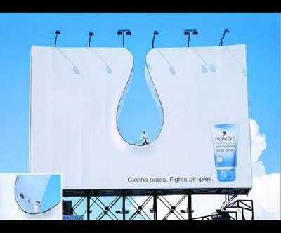 Креативная внешняя реклама