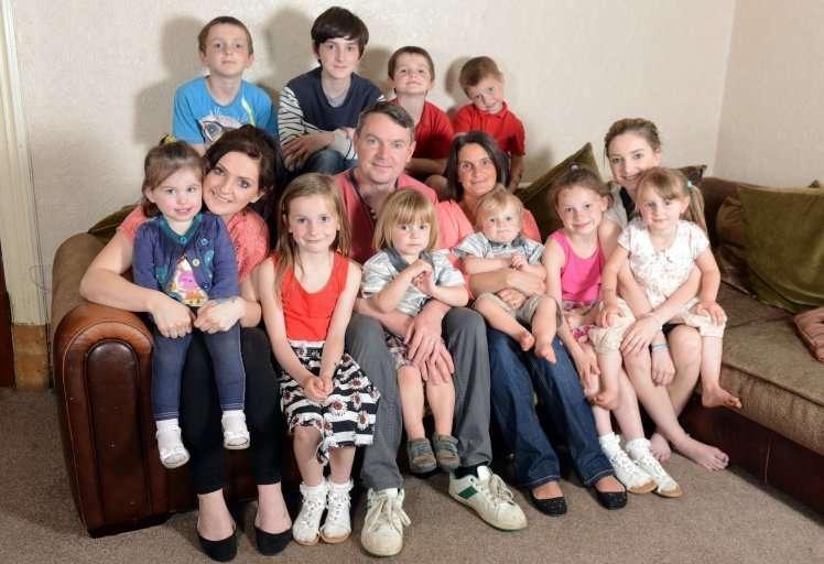 Семья Рэдфордов сообщила о скором рождении 20-го ребенка