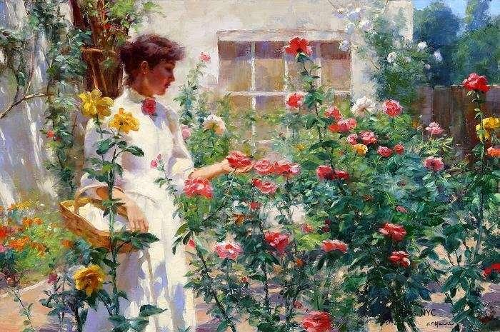 Международный женский день в саду «Эрмитаж»