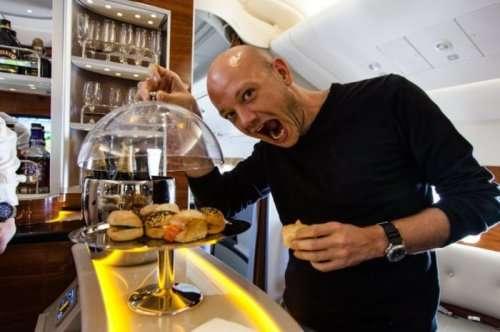 Комфорт и роскошь бизнес-класса Emirates A380