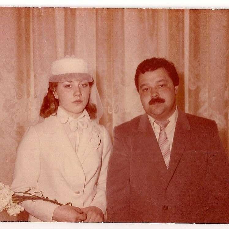 36 лет назад: Роза Сябитова опубликовала фотографию с первой свадьбы
