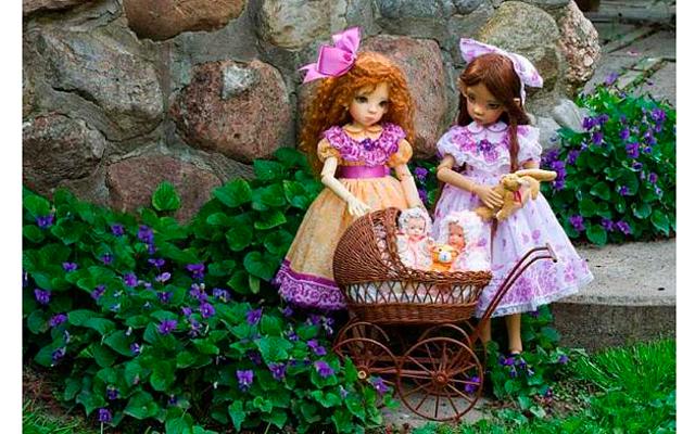 Авторские куклы Martha Boers