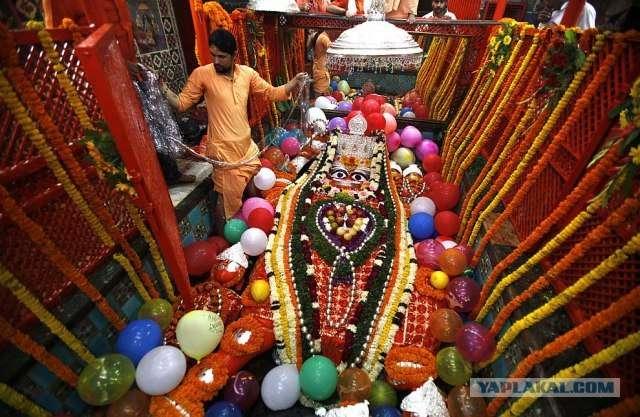 Фестиваль огней Дивали в Индии