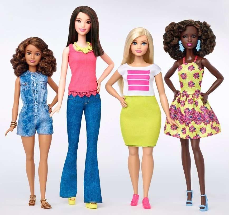Весной в России появятся Barbie® необычного телосложения