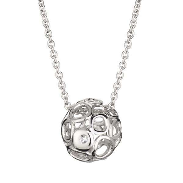 Выиграйте кулон из серебра с бриллиантами от Silver & Silver