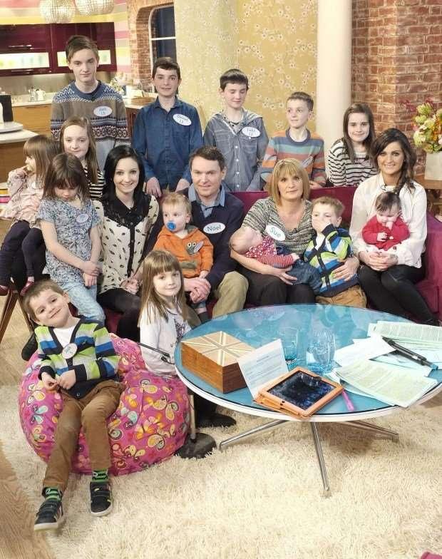 В британской семье ждут рождения 19-го ребенка