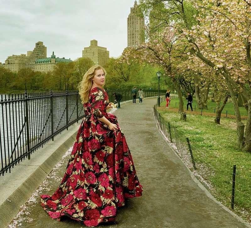Эми Шумер в American Vogue
