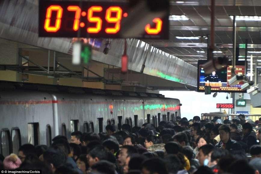 Как выглядит час пик в разных странах мира